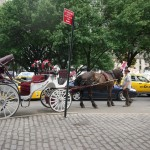 Laudau Carriage at Columbus Circle