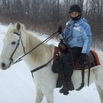 Sam and Marilyn winter ride