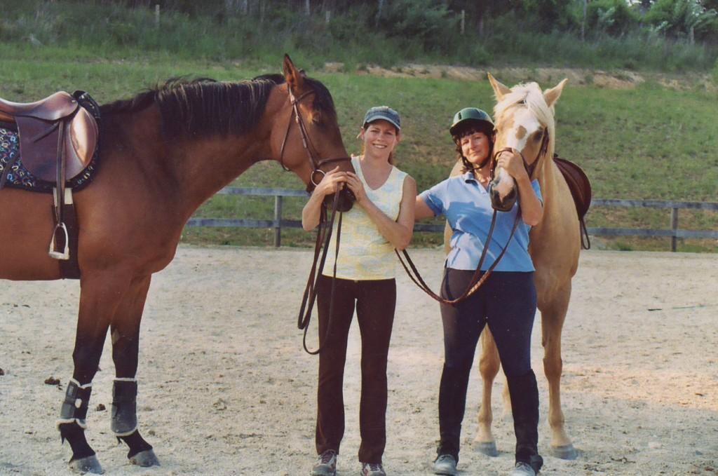 Karen and her sister Dorren Deel