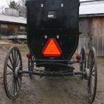 Backview of Leraysville carriage