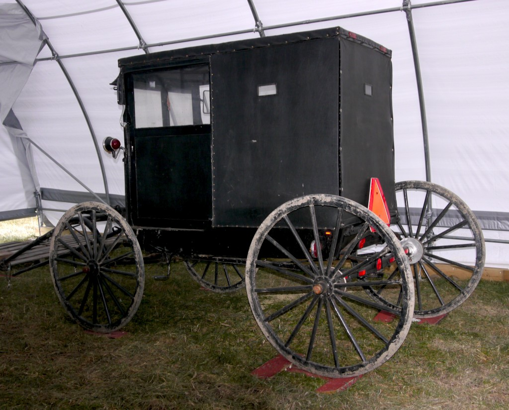 Connie and Johnn's new carriage