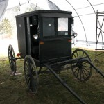 Lancaster style Amish carriage