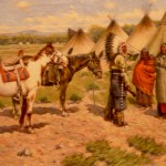 """The Chief's Visit"" by John Hauser"