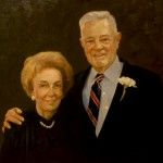 Hertha and Bob Rockwell, Jr. painted by Thomas S. Buechner in 2004
