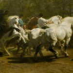 """The Horse Fair"" painted by Rosa Bonheur"