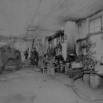 Blacksmith Shop Downtown Athens - photo courtesy of the Tioga Point Museum