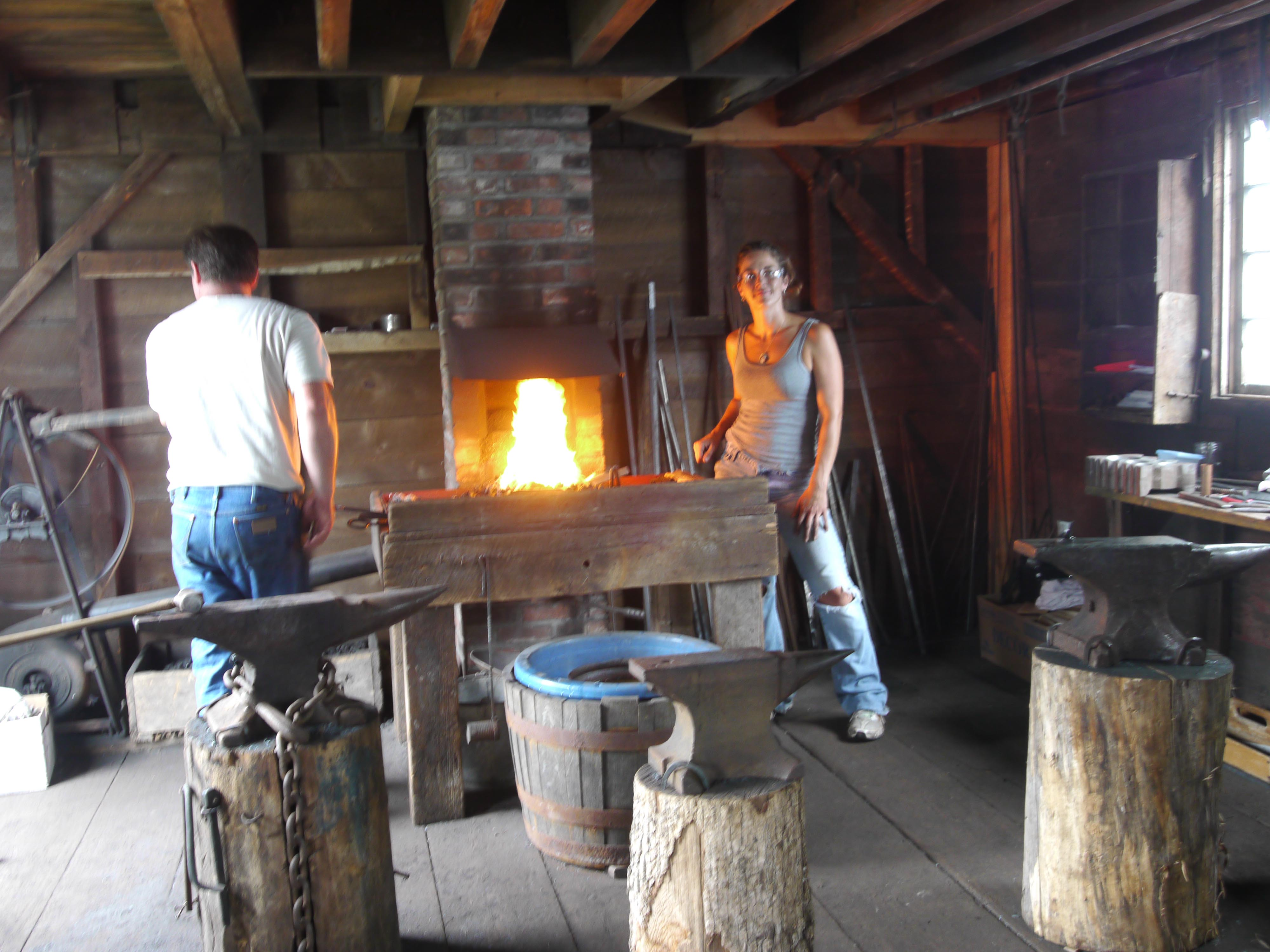 Jessica Conklin Cooley Blacksmith Shop Corning Ny 2