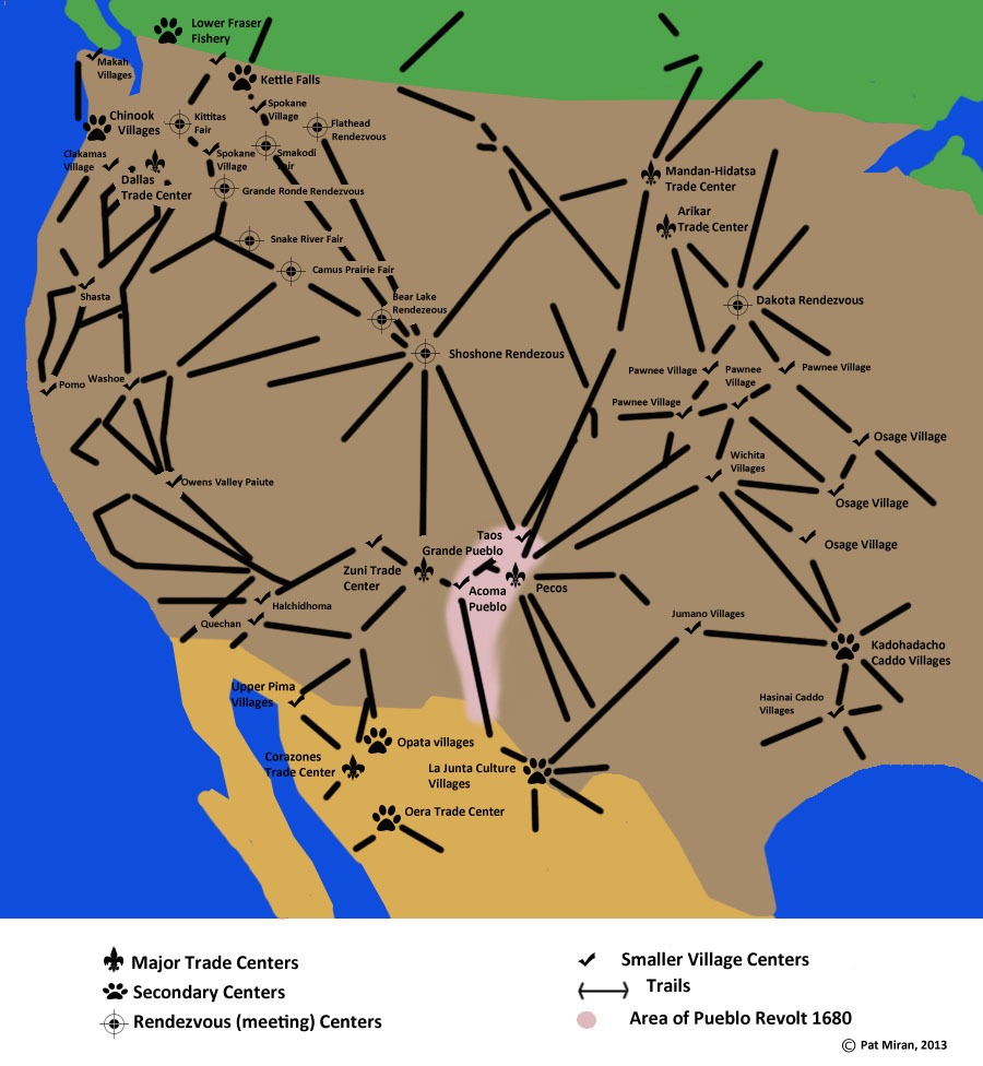 Horses and Native American Trade Routes | 2 Talk Horses