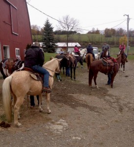 Memorial Trail Ride 10/27/13