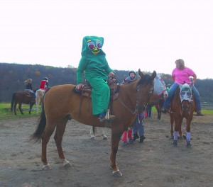 Halloween Party Participants at Rockin N Stables and Ranch1