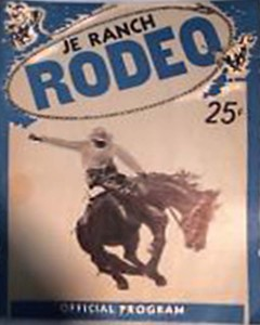 JE Rodeo Official Program