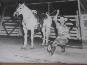 Jim Jr. Eskew World Champion Trick and Fancy Roper